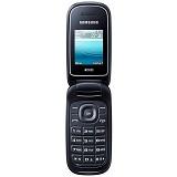 SAMSUNG Caramel [E1272] - Black - Handphone GSM